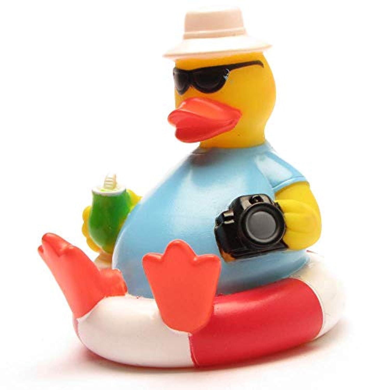 DUCKSHOP | Tourist Rubber Duck | Bathduck ゴム製のアヒル| L: 8 cm