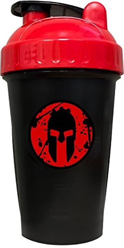 契約実験室プリーツPerfectShaker Performa スパルタンシェーカーボトル アクションロッドミキシング技術で最高の漏れ防止ボトル スポーツ&フィットネスニーズに 食器洗い機使用可 飛散防止