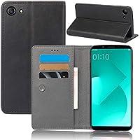 Oppo A83 財布 シェル, Phoebe Oppo A83 フリップ シェル, 上品な スリム レザー 財布, ID クレジット カード スロット ホルダー の Oppo A83-