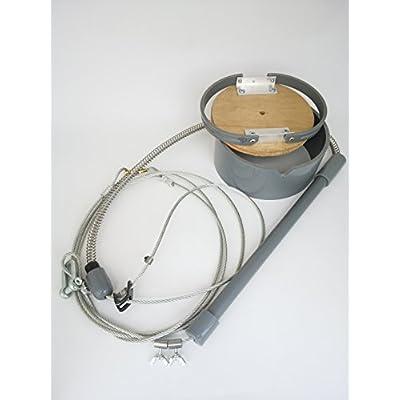 トラバサミ式足くくり罠 踏み板・スプリングセット 12cm規制対応品