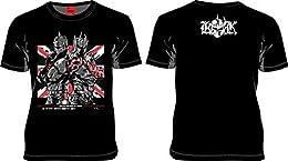 MARS16 x キン肉マン キン肉マン ロビンマスク & ケビンマスク Tシャツ ブラック