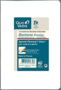 クオバディス 手帳 2016 ビジネスプレステージ リフィル ウィークリー qv285rech-pe