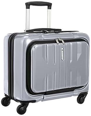 [ワールドトラベラー] World Traveler アマゾン限定 ACEコラボ特別企画 ペンタクォーク 横型ビジネスキャリー 35cm・31リットル・TSAロック搭載・機内持込可・バッグインバッグ付 05664 09 (シルバー)