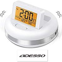 目覚まし時計 バイブレーション デジタル ブルブル・クラッシュ ADESSO(アデッソ) MY-106DI 非売品ステッカー付属
