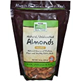 Now Foods Raw Almonds, Unsalted, 454g