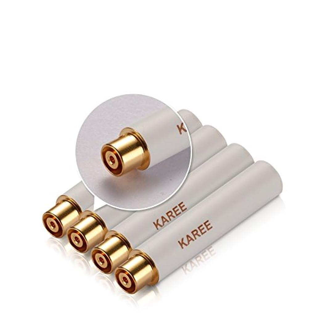 いつもパワーセル受賞WOLFTEETH 電子タバコ 1166 専用 交換用コイルヘッド リキッド無し?ニコチン無し 4本セット ホワイト