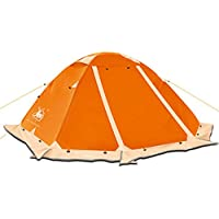 HUI LINGYANG アウトドア テント 2人用 ツーリングテント 二層構造 高通気性 防雨・防風・防災 折りたたみ 簡易テント 紫外線カット 200*150*110CM 2kg