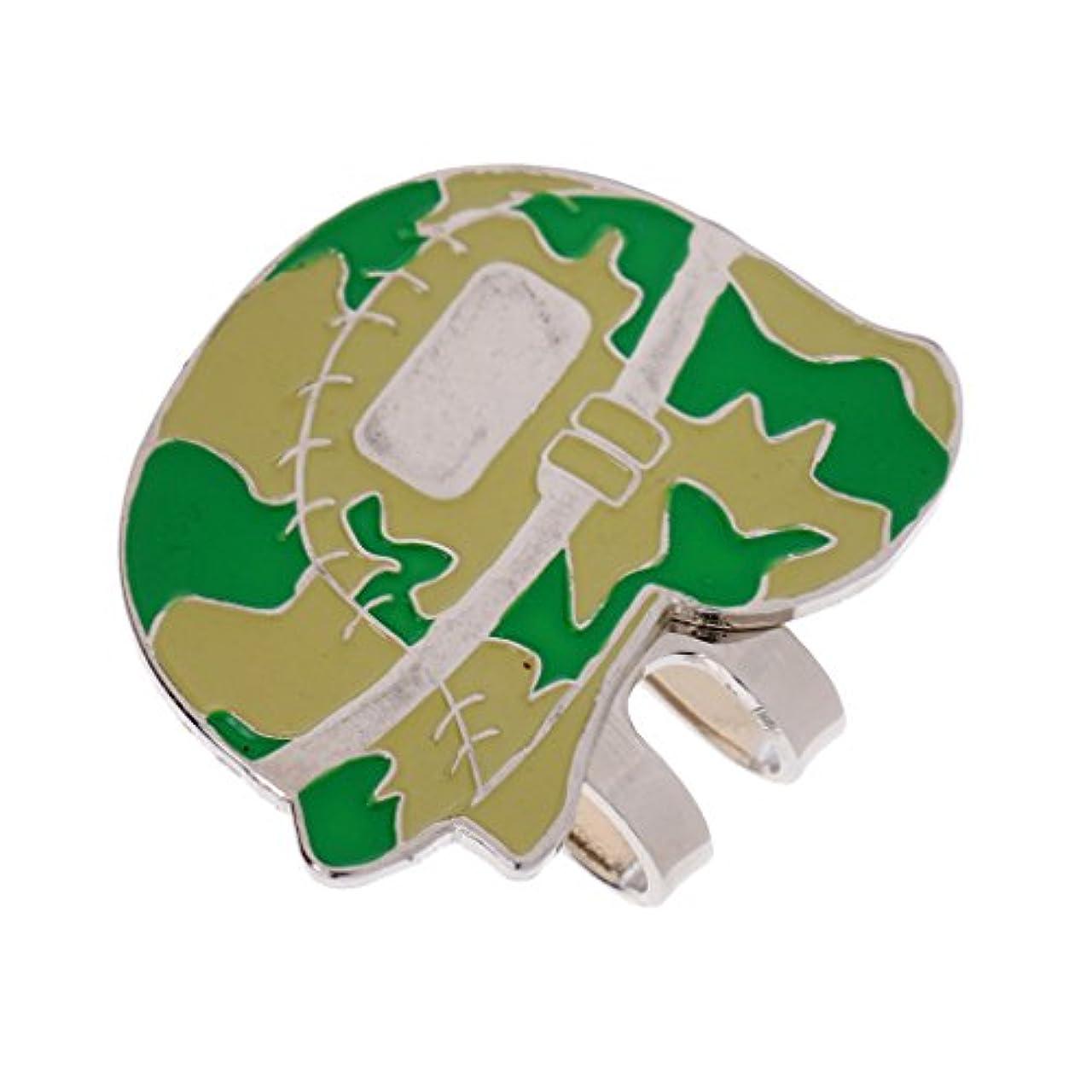 役割プレゼントシソーラスゴルフ 磁気 ボールマーカー ハットクリップ 取り外し可能 ランダムカラー