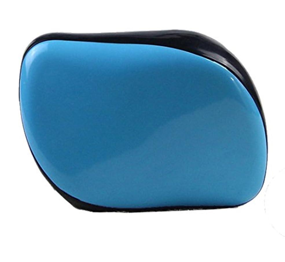 でもシェーバーカレッジMaltose 旅行用 シャンプー 美髪シャンプーブラシ 絡まないくし 男性用 絡まないヘアブラシ 女性用 旅行用 静電気防止 4色 (青)