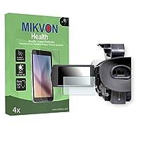 4x Mikvon Health Sony PXW-X180 雑菌防止加工・ブルーライトカットの画面保護フィルム アクセサリー付きのリテールパッケージ