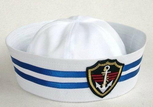 ポパイハット セーラー帽 コスチューム用小物 男女共用 53cm