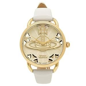 [ヴィヴィアンウエストウッド] 腕時計 レディース Vivienne Westwood VV163CMCM ホワイト イエローゴールド [並行輸入品]