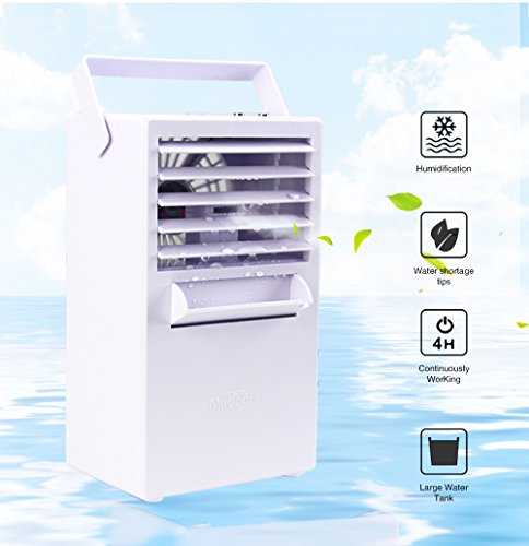 Madoats ミニポータブルエアコン コンパクト冷風機 卓...