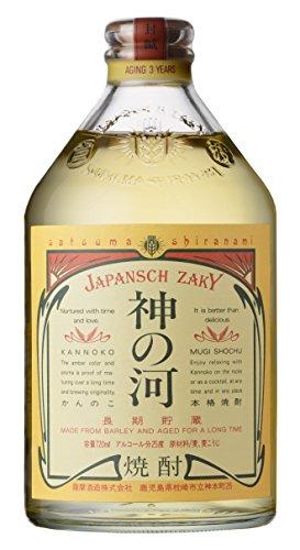 乙 神の河 長期貯蔵麦 25°/薩摩酒造   720ML 1本