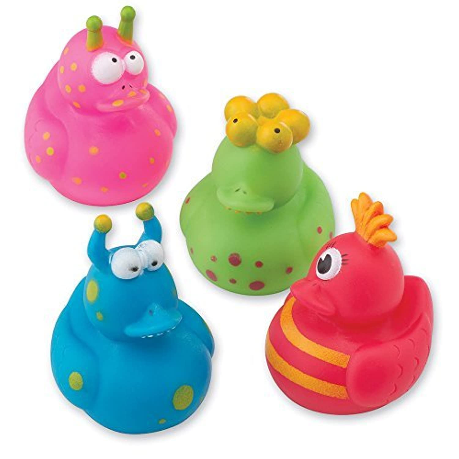Monster Rubber Duck Squirters - Toy Giveaways - 24 per pack by SmileMakers [並行輸入品]