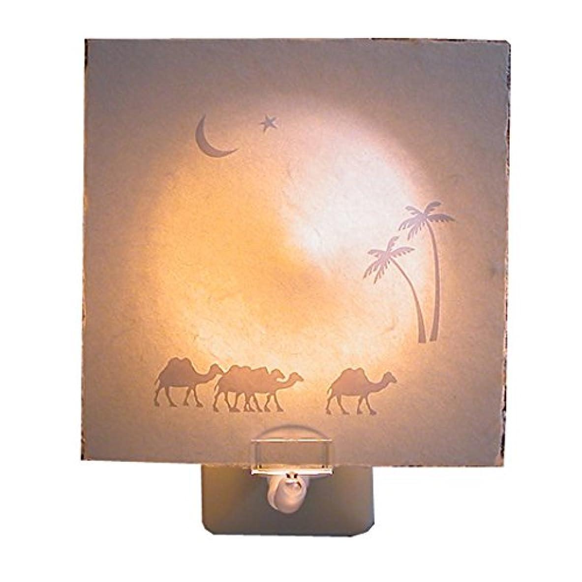 ミント不和レバー有限会社イメージラボテクスト 照明 おやすみカルタ-月の砂漠 コンセント OA-1001