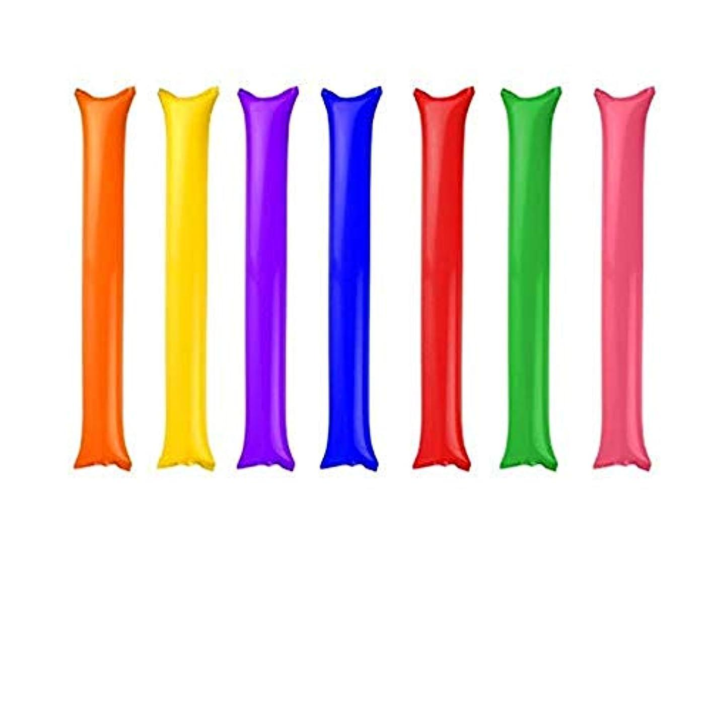 有料ミスペンドミサイルSimg スティックバルーン 16本セット 繰り返し使う可能 応援グッズ 雰囲気を作る ピンク?レッド?グリーン?ブルー?ホワイト?イェロー?オレンジ?パープル