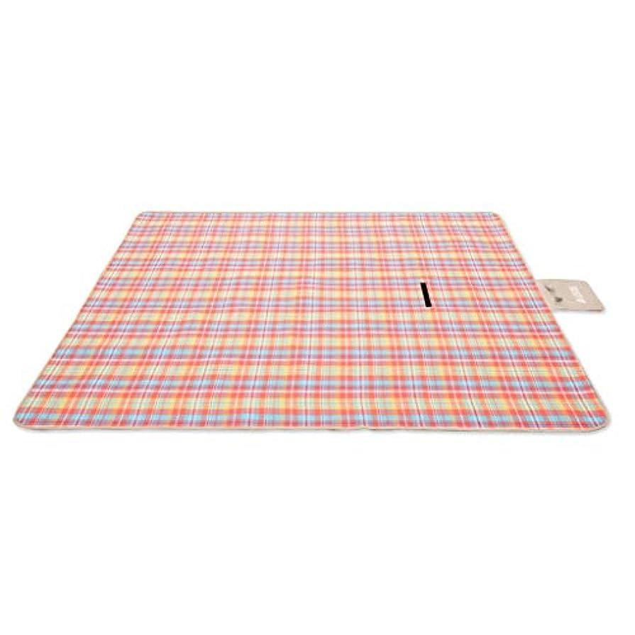 川困惑司書折りたたみピクニック毛布屋外ビーチマットピクニックマット防水サンドキャンプでハンドル家族の日中、旅行200 * 200 cm