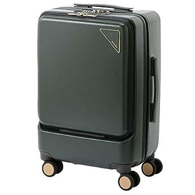 ジュエルナローズ ノマド・スーツケース(ジッパータイプ)機内持ち込み100席以上対応/06085 (グリーン)