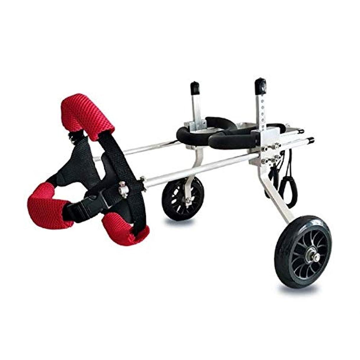 多様性兄弟愛書き込みIVHJLP ペット用犬車椅子2脚付き補助リハビリトレーニング大型補助サポートスクーター自由に調整可能なサイズ無効犬用スクーター(サイズ:L)