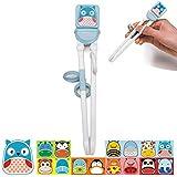 Learning Training Chopsticks Intelligent for Children Baby Practice Chopsticks 6 Colors