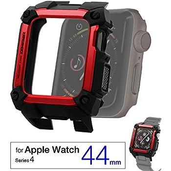 a0b99a0f80 エレコム Apple Watch ケース 44mm ZEROSHOCK レッド AW-44ZERORD AW-44ZERORD