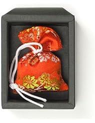 匂い袋 誰が袖 極品 1個入 松栄堂 Shoyeido 本体長さ60mm (色?柄は選べません)