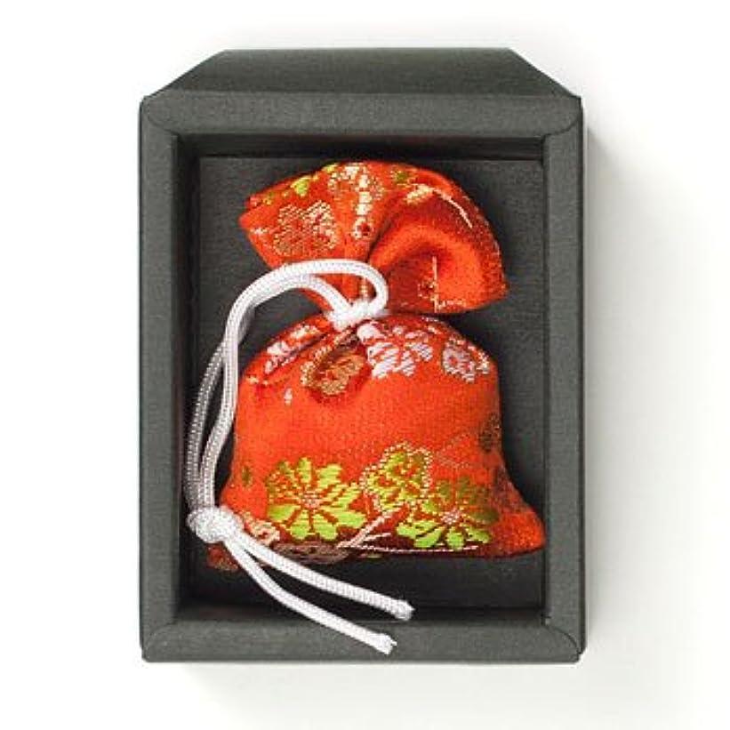 キノコトチの実の木僕の匂い袋 誰が袖 極品 1個入 松栄堂 Shoyeido 本体長さ60mm (色?柄は選べません)