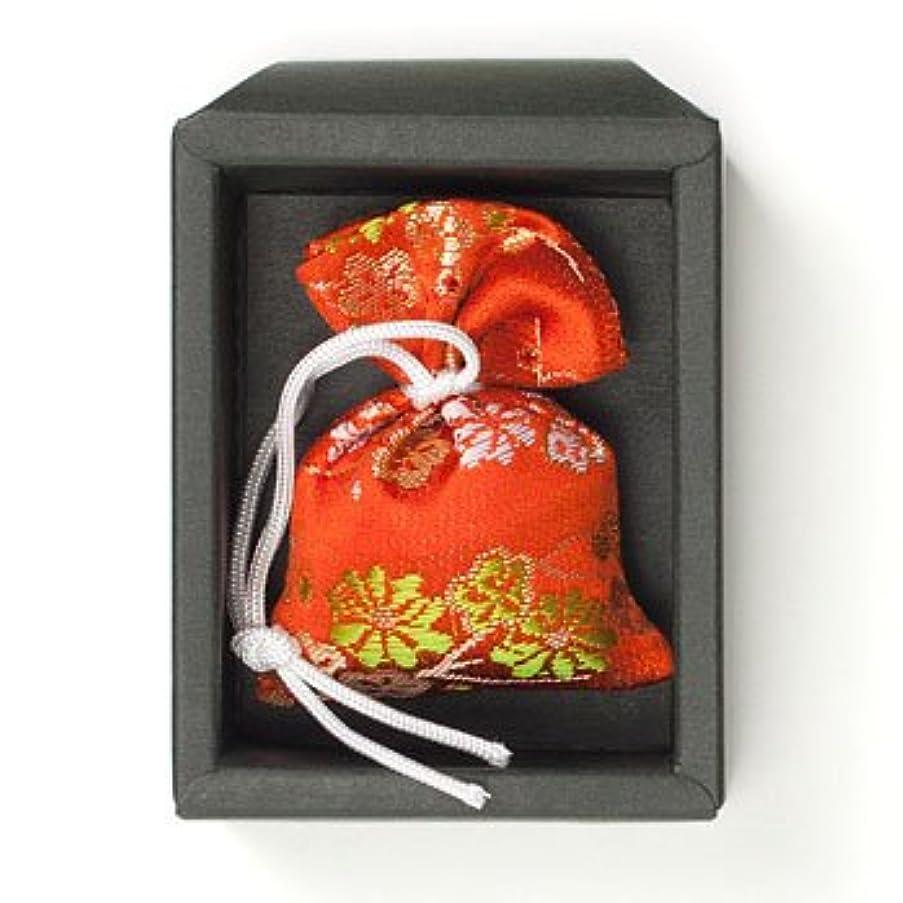 死すべき数値真夜中匂い袋 誰が袖 極品 1個入 松栄堂 Shoyeido 本体長さ60mm (色?柄は選べません)