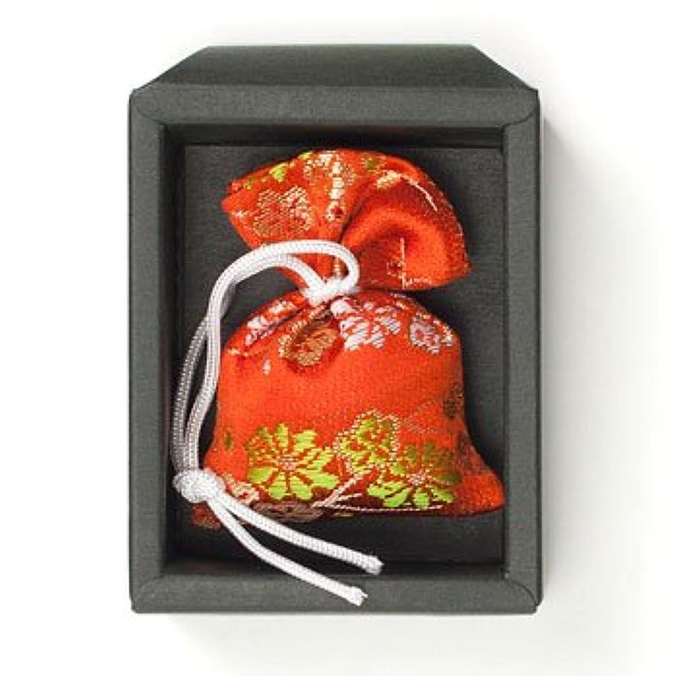 機知に富んだ女将早く匂い袋 誰が袖 極品 1個入 松栄堂 Shoyeido 本体長さ60mm (色?柄は選べません)