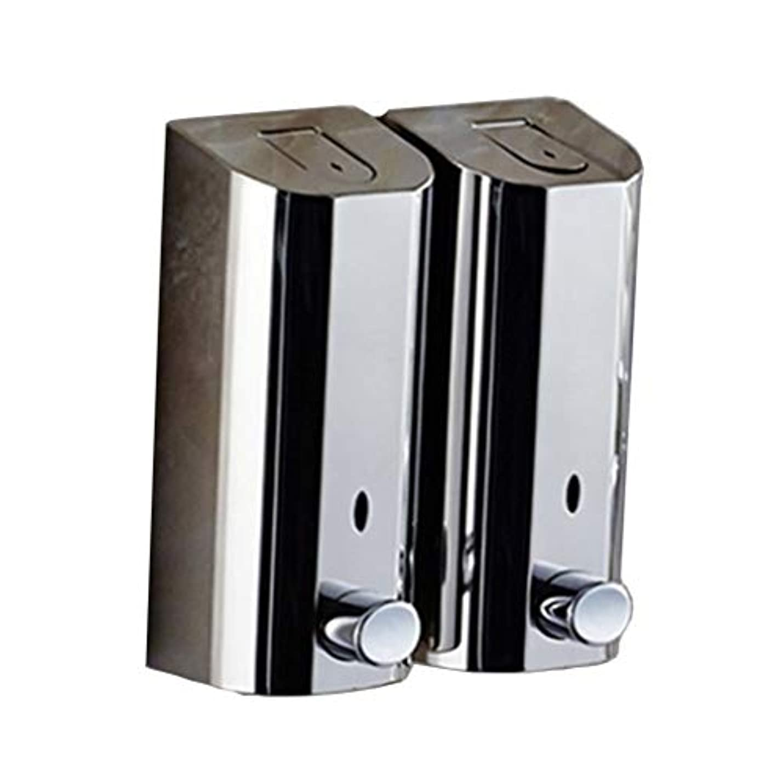 チャールズキージングコンソールパンダKylinssh ダブルソープディスペンサー、500ミリリットル* 2自動液体ディスペンサー、防水、漏れ防止、子供のためのタッチレスソープディスペンサー、キッチン、バスルーム