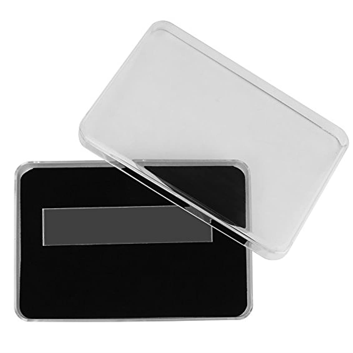 未知の会計エッセンスネイルアート収納ケース、ネイルポリッシュカラーディスプレイボックスネイルアート表示チャートコンテナマニキュア