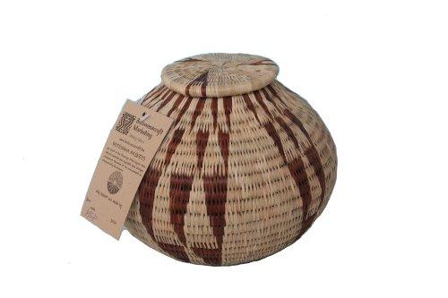 RoomClip商品情報 - アフリカ・ボツワナの蓋付きバスケット(サイズ5)