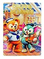 香港ディズニーリゾート ダッフィー&ジェラトーニ柄のカード