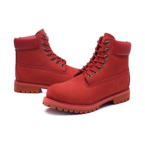 Timberland  ティンバーランド ブーツ メンズ アイコン 6インチ プレミアム 40th ルビー ウォーターバック(A1JLT ICON 6inch Boot 限定 防水)赤 (US8.0-26.0cm) [並行輸入品]