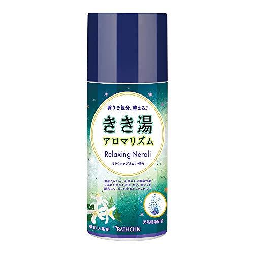 【医薬部外品】きき湯アロマリズム リラクシングネロリの香り 360g 入浴剤