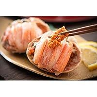 港ダイニングしおそう セイコガニ 甲羅盛り 小サイズ 約80g×3個(甲羅横幅 約7.5cm) 福井 越前松葉 せいこ蟹