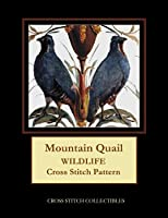 Mountain Quail: Wildlife Cross Stitch Pattern