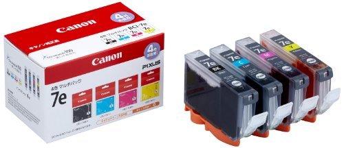 キヤノン キヤノン インクタンク 4色マルチP BCI-7E/4MP 00066550 【まとめ買い3個セット】