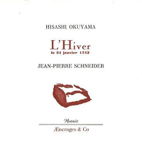 L'Hiver, le 24 janvier 1743