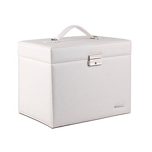 Rowling ジュエリーボックス アクセサリーケース 宝石箱 ネックレス収納ケース 大容量 小物入れ コスメボックス アクセサリー収納ボックス
