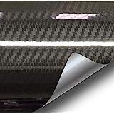 VViViD Epoxy High Gloss Carbon Fiber Automotive Vinyl Wrap (2ft x 5ft, Black)