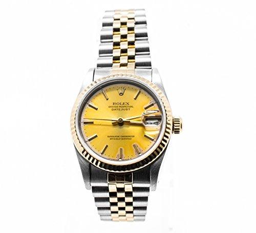 ロレックスデイトジャストスイスオートマティックメンズウォッチ68273(認定 Pre-Owned) Rolex Datejust swiss-automatic mens Watch 68273 (Certified Pre-owned)