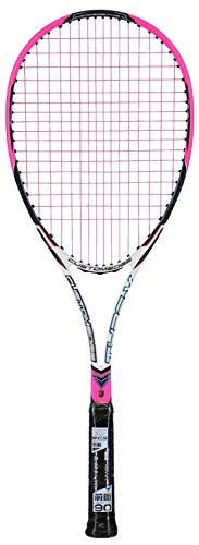 ゴーセン(GOSEN) [ガット張り上げ] ソフトテニス ラケット カスタムエッジ タイプV ショッキングピンク グリップサイズUSL 1 SRCVSPUSL1 ベリーピンク(BPK) 35ポンド(硬い)