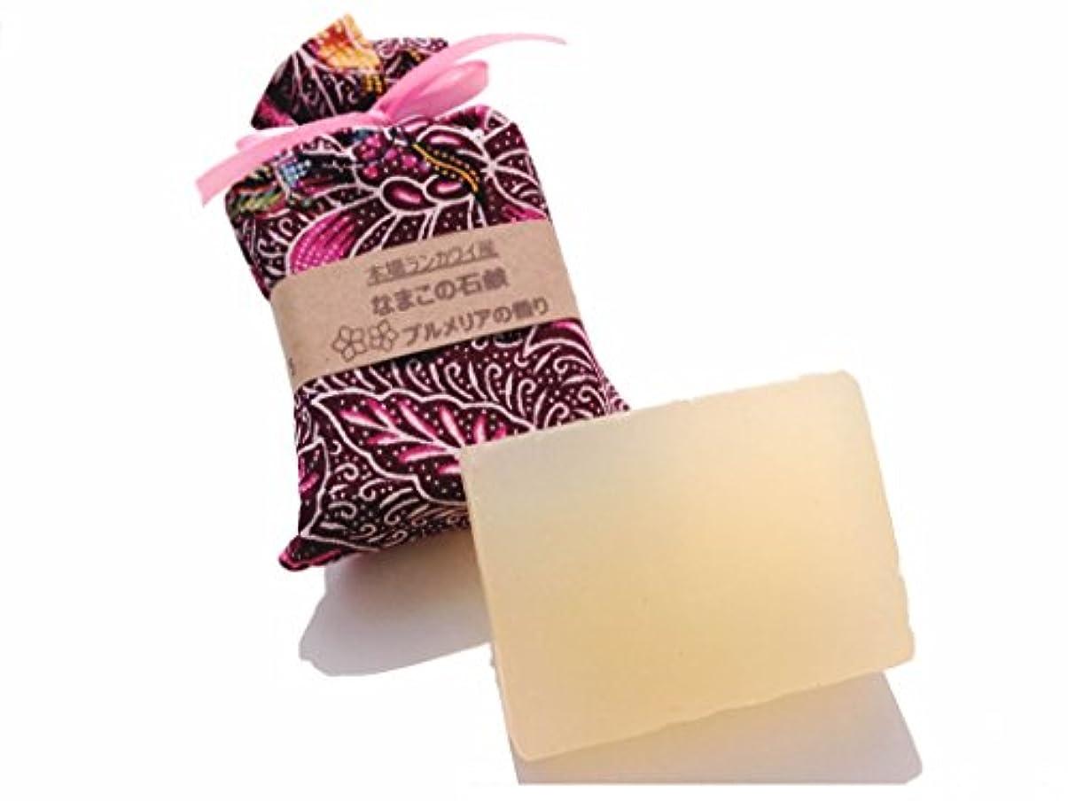 提供する音節平方なまこ石鹸 (ランカウイの純潔 プルメリア)