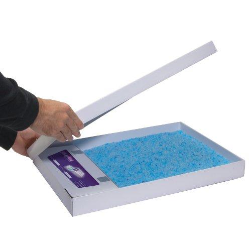 ペットセーフ スクープフリー 交換用「ねこ砂トレーセット」 クリスタルブルー 3個パック