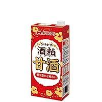 メロディアン 酒粕甘酒 紙パック 1L×6本入 あまざけ 1000ml