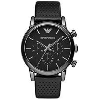 Emporio Armani Men's Luigi Chronograph Dress Watch With Quartz Movement
