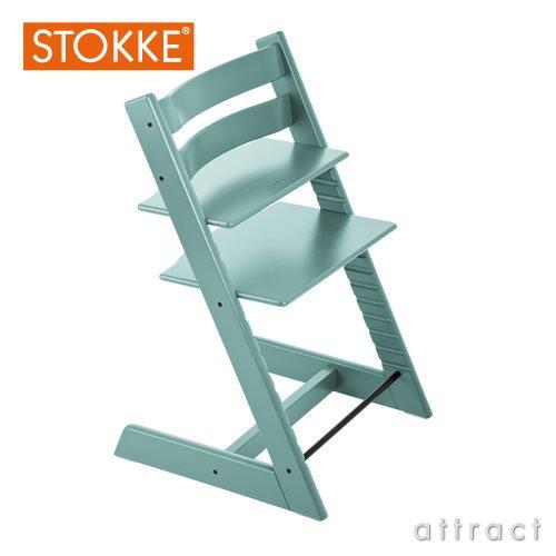 RoomClip商品情報 - STOKKE ストッケ Tripp Trapp トリップトラップ 本体(ベビーチェア)カラー:全10色  デザイナー:ピーター・オプスヴィック (アクアブルー)