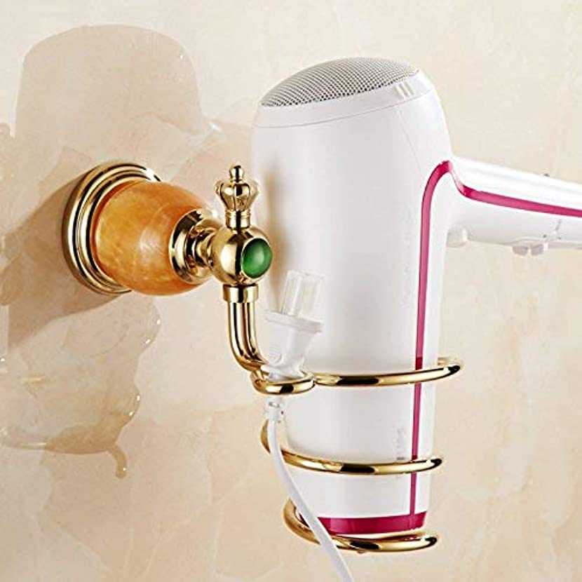 スリチンモイ誘惑敬礼ヘアドライヤーホルダー浴室革新的な壁掛け式ヘアドライヤーラック玉浴室の棚収納浴室用棚3820K ステンレス多機能ラック
